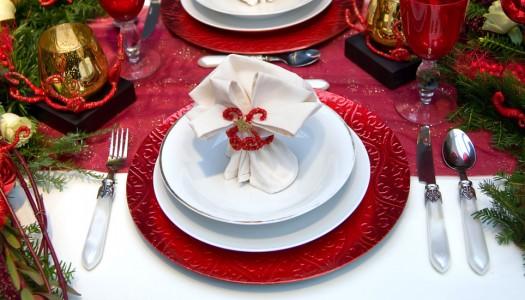 Come apparecchiare la vostra tavola di Natale
