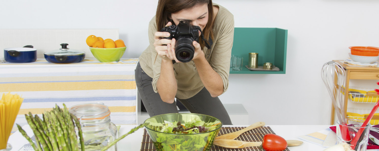 food blogger e food photographer