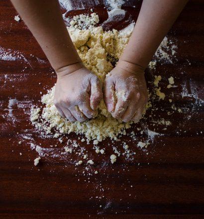 Preparazione Pizza rustica